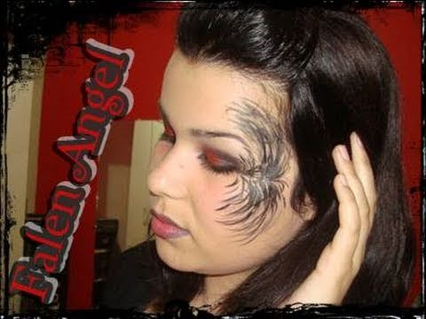 Makeup Tutorial Halloween 2010 Dark Angel Video