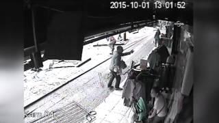 12 Kişinin öldüğü Otobüs Kazasında Yaşanan Panik Kamerada