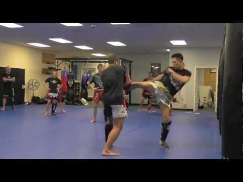 Coach Carlos Lopez at Calvert MMA Academy / Disciple MMA