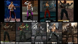 Mortal Kombat JAX Graphic Evolution 1993-2015 | ARCADE PSX PS2 PSP XBOX PC | PC ULTRA