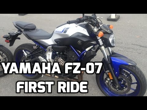 2016 Yamaha FZ-07 First Ride and Reaction