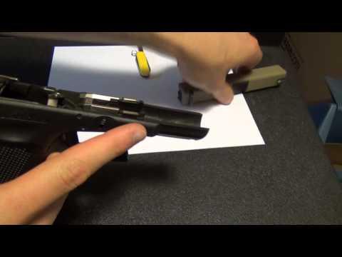 Glock 19 Gen 4 Fail! Slide Lock and Spring Problems