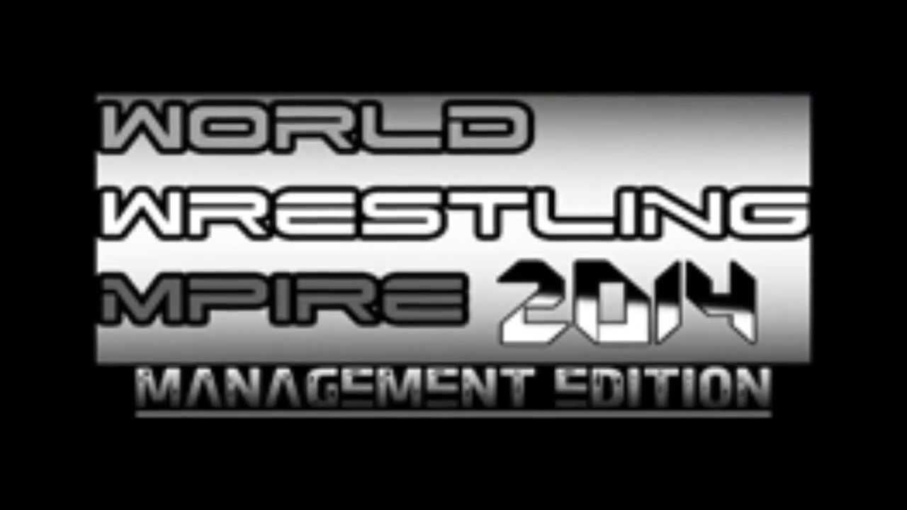 Wrestling mpire 2016 management edition v1.3 full version