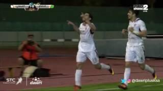 هدف الفيصلي الأول ضد الاتفاق (غونزالو كابريرا) في الجولة 10 من دوري جميل