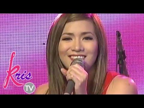 Kris TV: Angeline Quinto sings