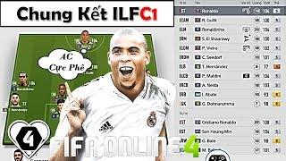 FIFA ONLINE 4   Đội Hình Super AC MILAN 150 TỶ ĐẸP TOP SERVER & Đại Chiến Cuối   CHUNG KẾT ILFCL