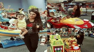 Ayeza Khan With Her Cute And Loving Daughter Hoorain