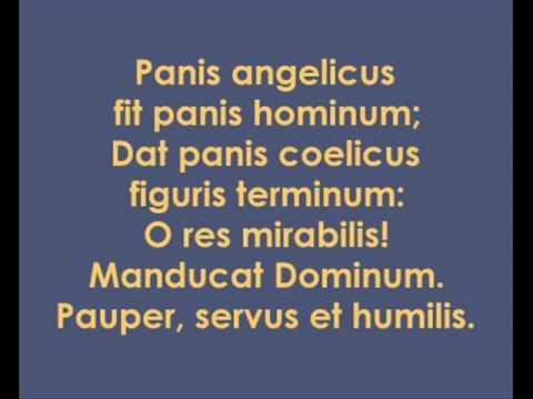Сезар Франк - Panis Angelicus