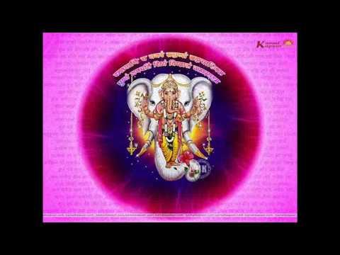 By Asha Bhosla Ganesh Aarti: Shendur Lal Chadhayo achchha gajmukhko...