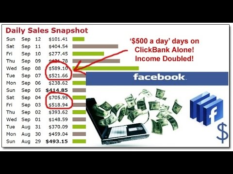 Make Money Online with Facebook | Using Clickbank (Fast and Free)