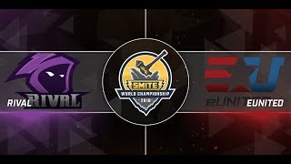 SWC 2018 Finals eUnited vs Team Rival Game 1