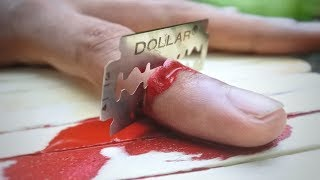 3 Awesome Cutting Finger Magic Tricks That You Can Do