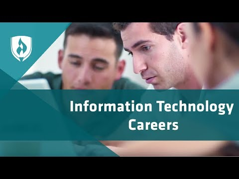 How to Choose an Information Technology Career