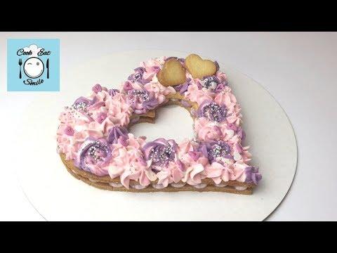 Торт сердце ко дню всех влюбленных