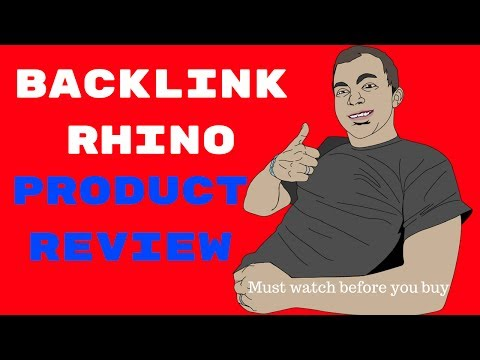 Backlink Rhino Review and Bonus - how to make money with wiki links