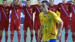 Futsal trận đấu siêu kinh điển thể giới mới nhất Brazin & Rusia