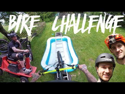 Enduro Bike Challenge im Garten - Game Of Bike Fabio und Leo - Hinderniskurs Teil 1/2