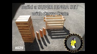 Building a SUPER JENGA game with carry crate (#029)