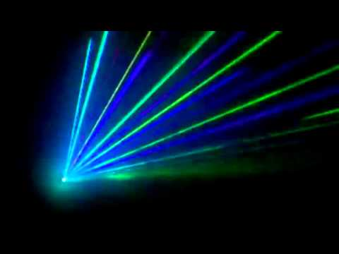 Laser Light Show (ye Project) video