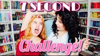 7 SECOND BOOK CHALLENGE W/ Tashapolis!