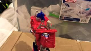 Optimus Prime meets the sailor scout