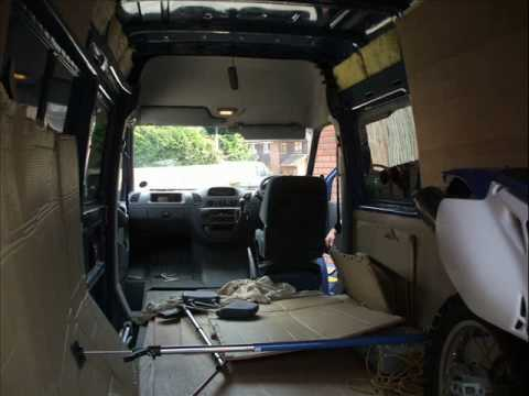 HOW TO MAKE A SELF BUILD CAMPERVAN PART1