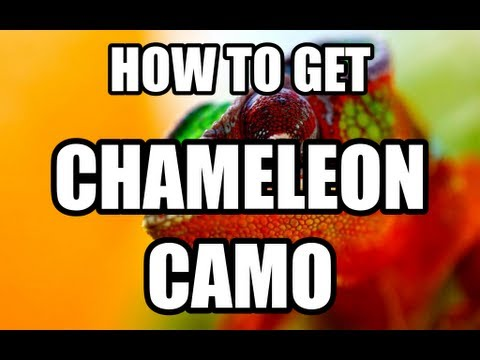 HOW TO GET COLOR CHANGING CAMO IN BLACK OPS 2 (CHAMELEON CAMO)