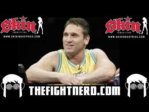 Ken Shamrock talks steroids in MMA & fight against Pedro Rizzo Video