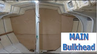 Building my steel sailing yacht Ep.27 The MAIN Bulkhead pt.2
