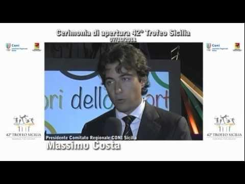 Inaugurazione 42° Trofeo Sicilia svoltasi al CUS di Palermo il 07/10/2011