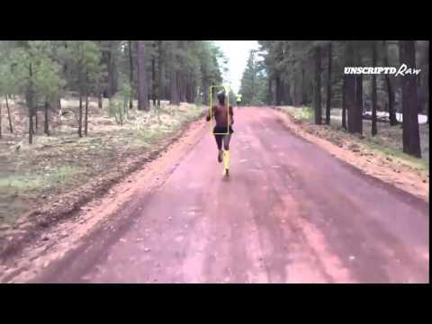 Mo Farah Shaky Training Run Particle Filter Tracking