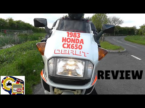 Classic bike review - Honda CX650 Turbo 1983