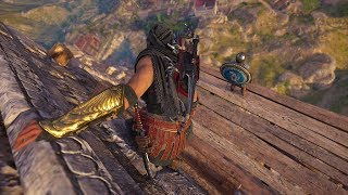 Assassin's Creed Odyssey: Stealth Kills Gameplay - Hideout Clearing Assassin Build - Vol.9