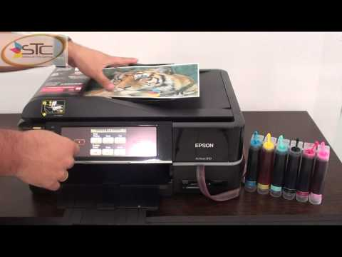 Multifuncional Fotografica Epson Artisan 810 con Sistema de Tinta Continua STC