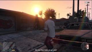 GTA 5 - Mission 26 (part 1/2) - Trevor and Franklin - Xbox 360 HD