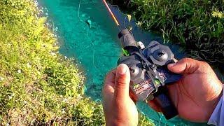 RC FISHING REEL Catches FISH! DIY