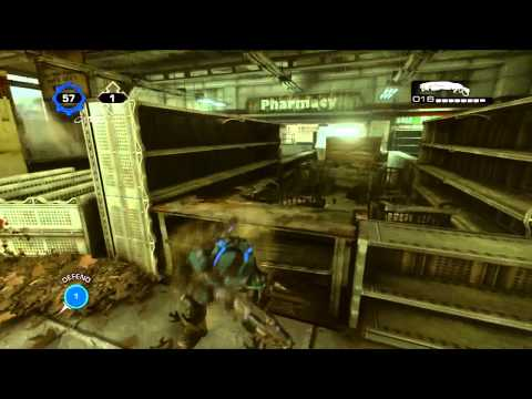 GoW 3 Unstoppable I Gnasher Pwnage (15 consecutive kills)