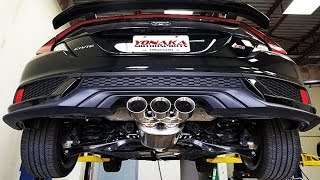 10th GEN CIVIC 1.5 turbo Aftermarket Exhaust Compilation (HKS, Greddy, Borla, Injens....)