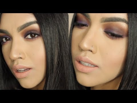 Royal Purple Smokey Eye Tutorial MariaaGloriaa