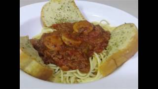 Just T's Husband How To Make The Best Spahgetti & meat sauce