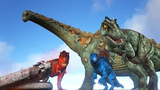 (outdated) TOP 10 Strongest Creatures in ARK! (Including Everything) || Cantex