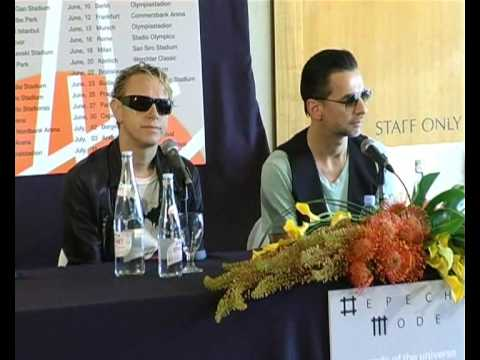 Depeche Mode in Israel Press Conference דפש מוד מסיבת עיתונאים www.yosmusic.com