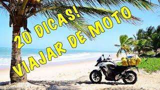 20 dicas importantes para quem vai pegar a estrada de moto no Carnaval!
