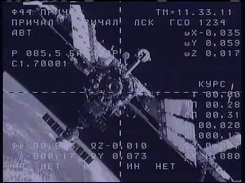 SOYUZ TMA-16: DOCKING TO ISS