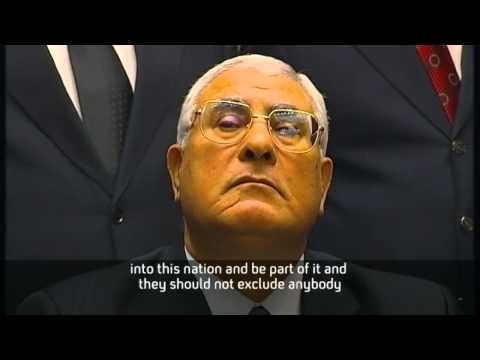 Adly Mansour, Egypt's new president, first interview