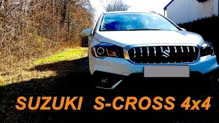 [Review] Suzuki S-Cross 4x4 in depth, test and review