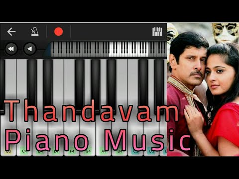 Thandavam Piano Music | Notes | Vikram | G. V. Prakash Kumar | A. L. Vijay | Perfect Piano