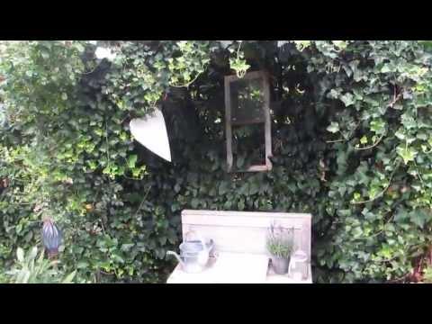 Unser Garten /Bauerngarten, Rosen, Efeubögen, Rosenbögen, Alte Gartenmauer, Gartenhaus