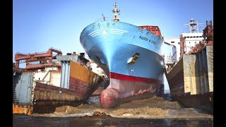 On Last Journey! Top 10 Big Crashes Ships Collision With Shore