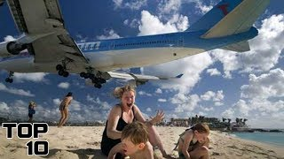 Top 10 INSANE Emergency Plane Landings